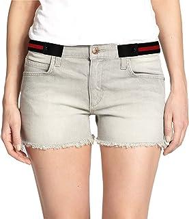 SWAUSWAUK 2 Pezzi Cintura Senza Fibbia - Cintura Elastica Senza Fibbia per Donna e Uomo Unisex Cintura Elastiche per Jeans...