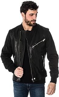 Best diesel leather jacket mens Reviews