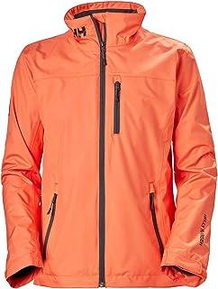 Helly-Hansen Crew Midlayer Fleece Lined Waterproof Breathable Rain Jacket Abrigo de Vestir para Mujer