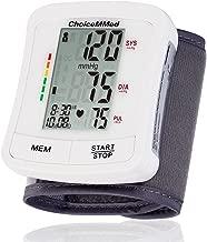 CHOICEMMED Wrist Blood Pressure Monitor - BP Cuff Meter with Display - Blood Pressure Machine up 5.3