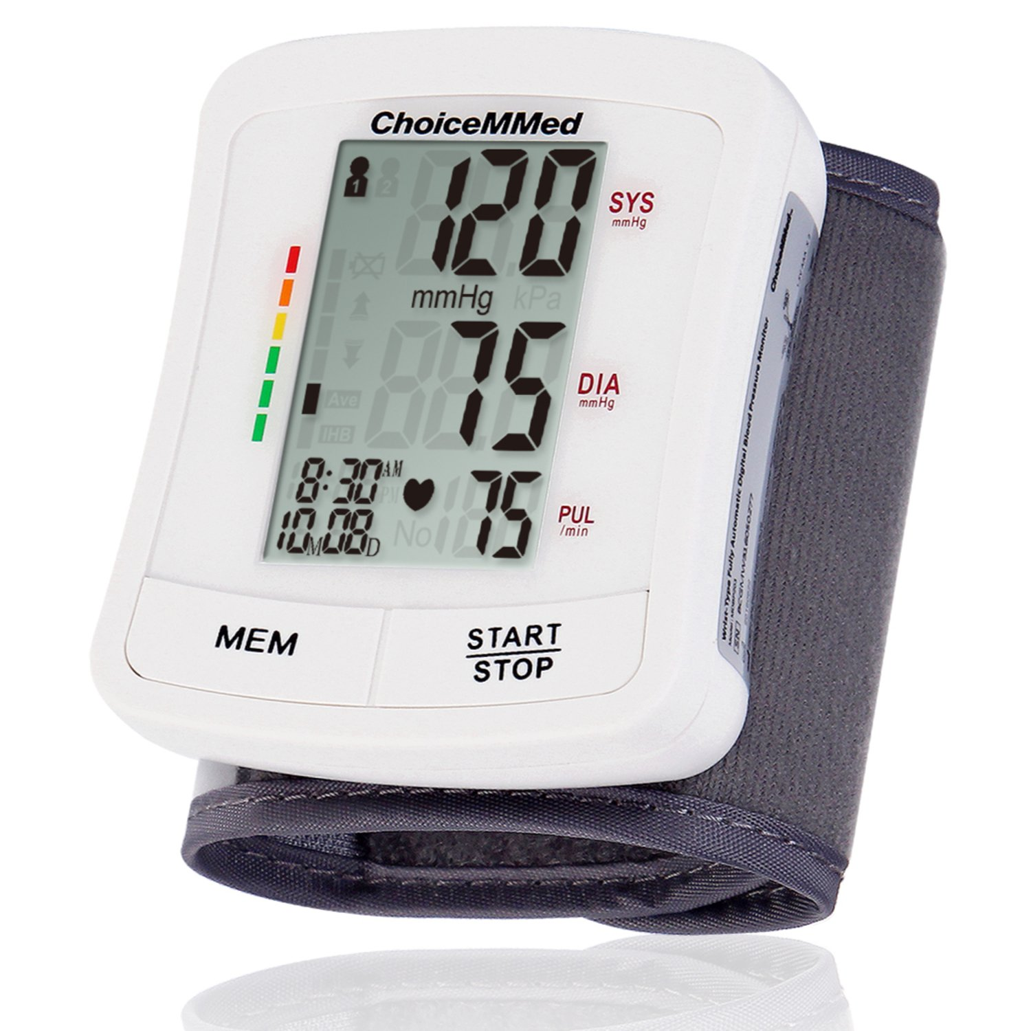 CHOICEMMED Wrist Blood Pressure Monitor