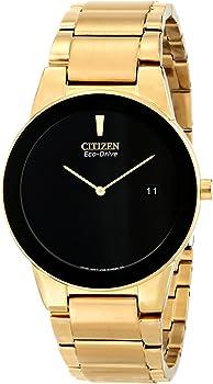 Citizen Axiom Black Dial Gold-tone Men's Watch