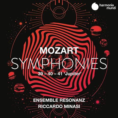 """Mozart: Symphonies Nos. 39, 40 & 41 """"Jupiter"""" von Ensemble ..."""
