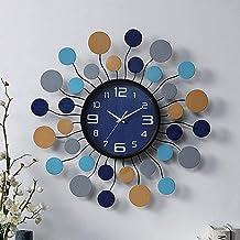 Wall Clock - Metal/Personality/Home/Clock, Fashion Wall Clock Living Room Bedroom Creative Mute Clock Wall Clock (56x56cm)...