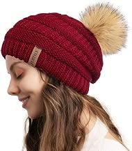 FURTALK Winter Beanie for Women Fleece Lined Warm Knit Skull Slouch Beanie Hat