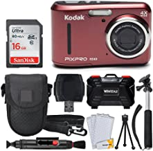 Kodak PIXPRO FZ43 16.15MP Digital Camera with 4X Optical...