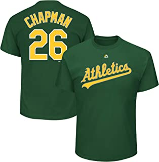 193d87120 Outerstuff Matt Chapman Oakland Athletics #26 Green Youth Name and Number  Jersey T-Shirt