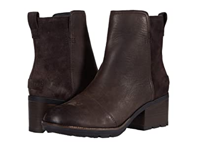 SOREL Cate Bootie (Blackened Brown) Women