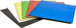 Pavo - Lámina imantada (150 x 150 mm, 6 colores)