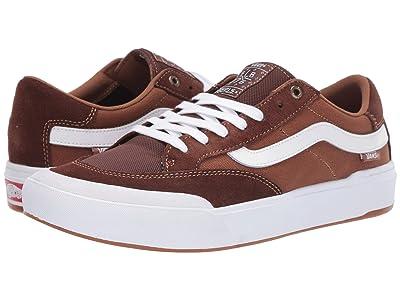 Vans Berle Pro (Potting Soil/White) Skate Shoes
