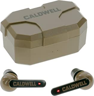 Caldwell E-Max Shadows 23 NRR - Electronic Hearing Protection with Bluetooth Connectivity for Shooting, Hunting, and Range