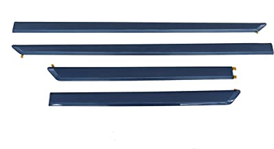 Genuine Toyota Accessories PT938-03120-08 Clearwater Blue Metallic Body Side Molding - 4 Piece