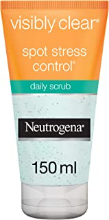 Neutrogena, Facial scrub, Visibly Clear, Spot Stress Control, 150ml