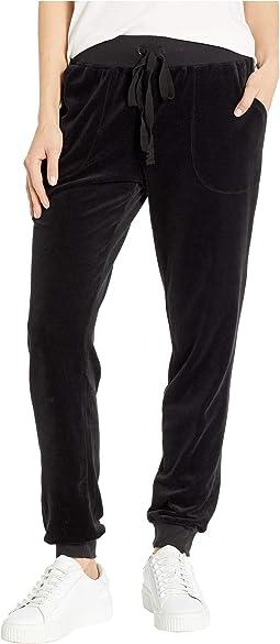 Velour Jogger Pants
