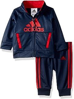 adidas Baby Boys Tricot Track Jacket & Jogger Tracksuit