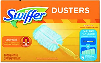 Swiffer Unscented Duster Kit, Blue, Yellow (11804CT)
