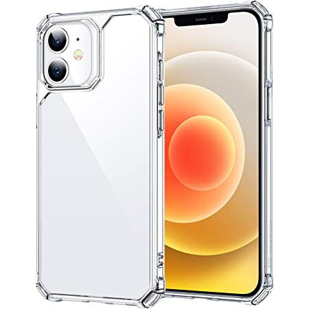 ESR Air Armor Series Case Compatible with iPhone 12 Mini 5.4-Inch [Shock Absorbing and Scratch Resistant] [Military Grade Protection] [Hard Back with Flexible Frame] - Clear