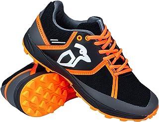 Kookaburra Unisex-Adult Convert Hockey Shoes, Black/Orange