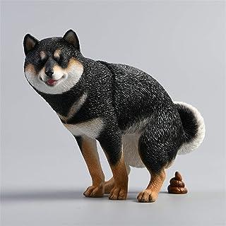Mr.Z 1/6 サイズ 柴犬 シバイヌ 可愛い 滑稽 犬 動物 リアル フィギュア プラモデル おもちゃ 模型 樹脂 プレミアム オリジナル スタチュー 塗装済 完成品 犬好き 誕生日 プレゼント 置物 (053A)