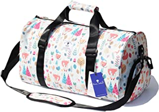 1e14e1271bfc Original Floral Water Resistant Duffel Bag Gym bag Weekender Travel Bag for Gym  Beach Travel School