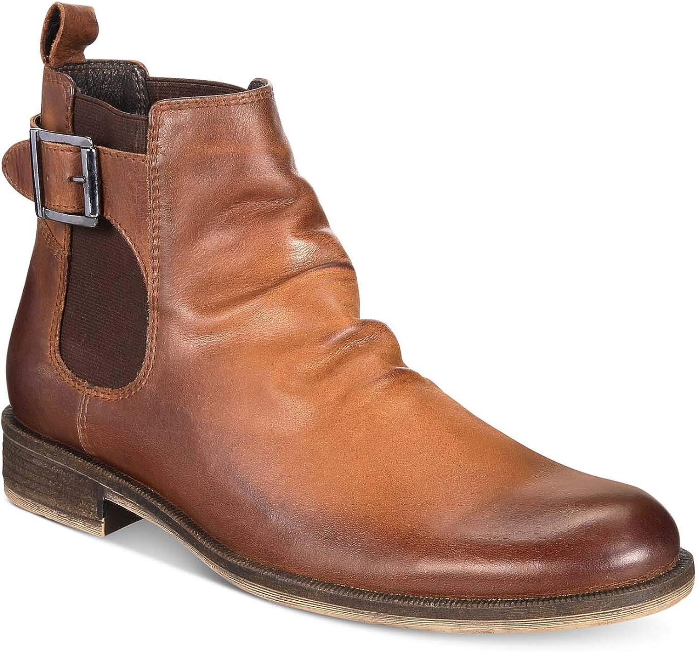 Bar III III III Nelson läder Almond Toe Ankle mode stövlar  grossistpris och pålitlig kvalitet