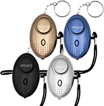 Safe Sound Personal Alarm - 140DB Self-Defense Electronic Device Alarm Keychain with LED Light, Emergency Personal Alarm f...