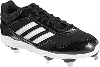 adidas New Men's Excelsior Pro Metal Low Baseball Cleats Black/White 8