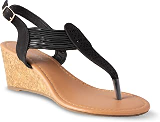Twisted Women's Riley Z2 Low Wedge Sandal