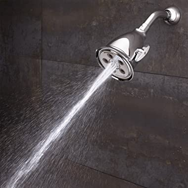 Speakman, Polished Chrome S-2005-HB Hotel Anystream High Pressure Shower Head-2.5 GPM Adjustable Replacement Bathroom Showerh