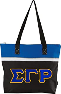 Sigma Gamma Rho Lettered Muse Totebag