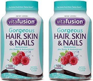 Vitafusion Gorgeous Hair, Skin & Nails Multivitamin, 200 Count