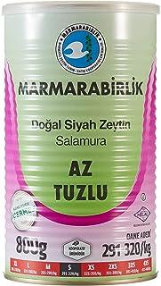 Marmarabirlik Az Tuzlu Doğal Salamura Sulu Zeytin 800 gr Teneke (S) 291-320