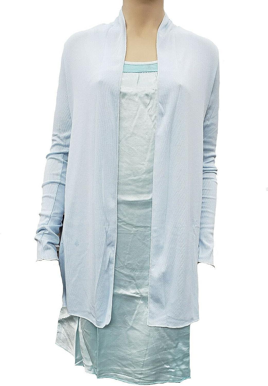 PJ Harlow Amelia Knit Cardigan - Amelia (Large, Pale Blue)