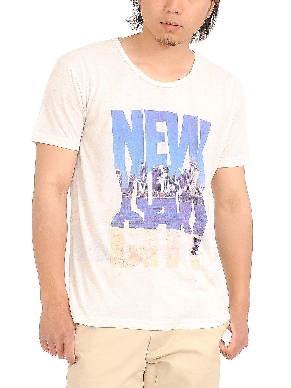 (スペイド) SPADE Tシャツ メンズ プリント 半袖 フォト ロゴ 風景 デザイン 【w361】