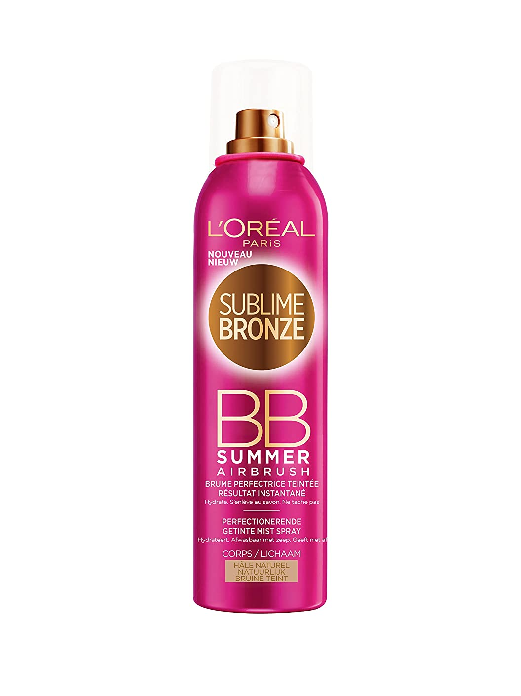 ループ本物シンポジウムL'OREAL - SUBLIME BRONZE- BB SUMMER - Hale Naturel - 150ml