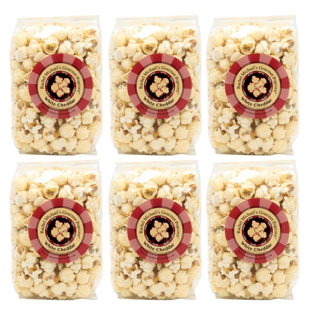 Rachel Michael's Gourmet Popular products WHITE CHEDDAR Max 86% OFF Popcorn for Perfect - wed