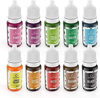 comprar comparacion Colorante Alimentario liquido set, Wayin 10ML Colorante Alta Concentración Para los Bebidas Reposteria Pasteles Galletas M...