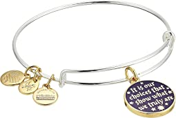 Harry Potter It's Our Choices Bangle Two-Tone