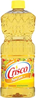 Crisco Pure Corn Oil, 48-Ounce (Pack of 3)