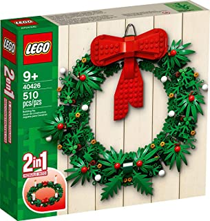LEGO Iconic Christmas 2-in-1 Wreath with Big Red Bow and Advent 40426