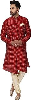 طقم بيجاما تونيك كورتا دوبيون من الحرير للرجال من سكافيج مجموعة ملابس الزفاف