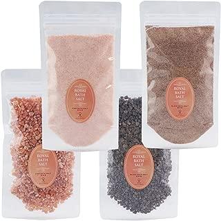 ロイヤル バスソルト ヒマラヤ岩塩 ピンク ブラック パウダー グレイン 各200g 細粒 粗粒 ROYAL BATH SALT