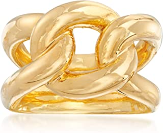 Ross-Simons Italian Andiamo 14kt Yellow Gold Knot Ring For Women Made in Italy
