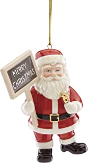 Lenox 884552 2019 Merry Christmas Santa Ornament