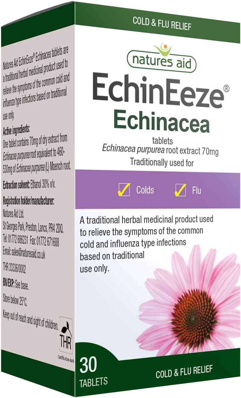 Natures Indefinitely Aid EchinEeze Echinacea root tablet extra 5% OFF 30