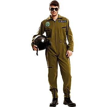 My Other Me Me-202627 Piloto Disfraz Top Gun para hombre, S ...