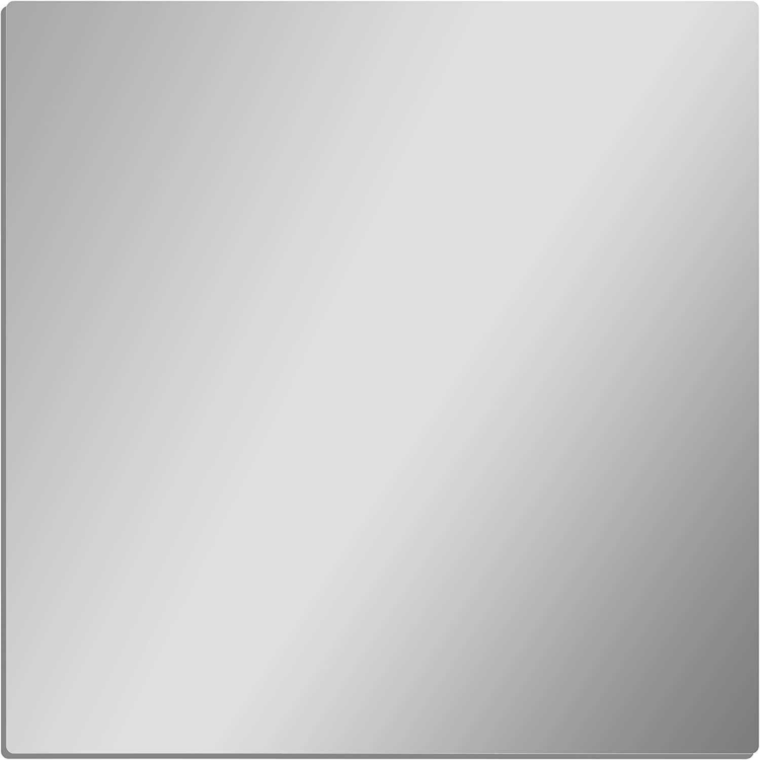 GLOSSY GALLERY Square Shatterproof Acrylic 8in Max 72% Detroit Mall OFF Mirror x - Safety