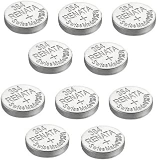 10 x Renata Single Watch Batteries Silver Oxide Swiss Made 0% Mercurry Long Life (10 x 364 or SR621SW or AG4)