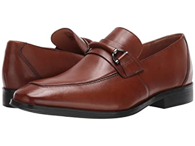 Clarks Gilman Bit (Dark Tan Leather) Men