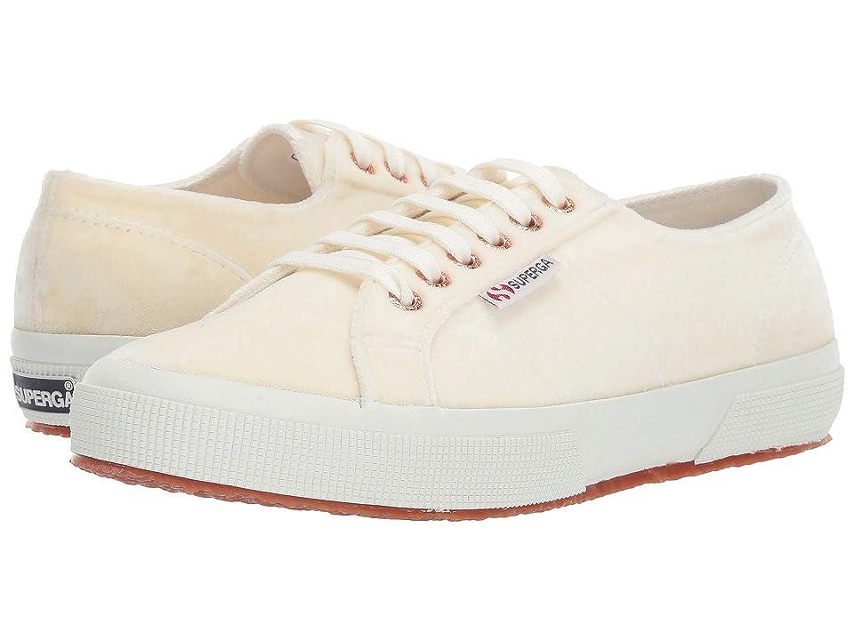 Superga 2750 Velvetjpw (White/Rose) Women